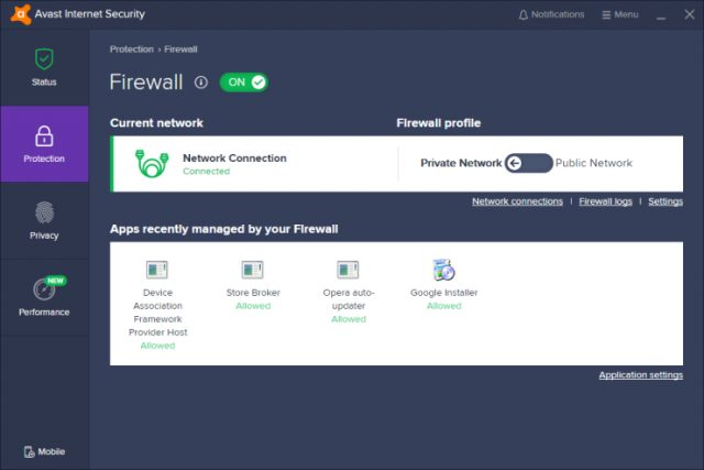 Avast Secure Firewall, Avast Antivirus review, Awast Internet Security