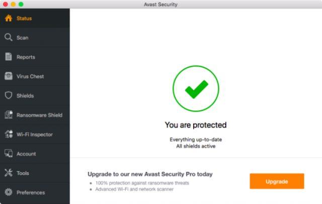 Avast Antivirus for Mac