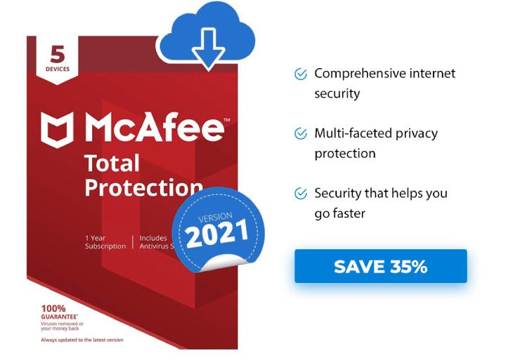 McAfee Antivirus Offer.