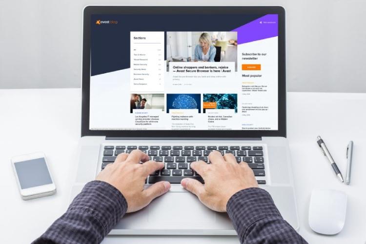 Avast antivirus Web site