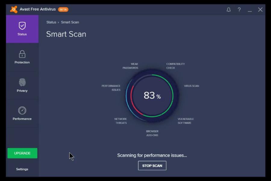 Avast Smart Scan