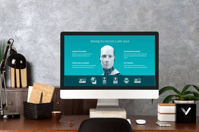 ESET antivirus - official website.