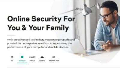 Kaspersky Antivirus.