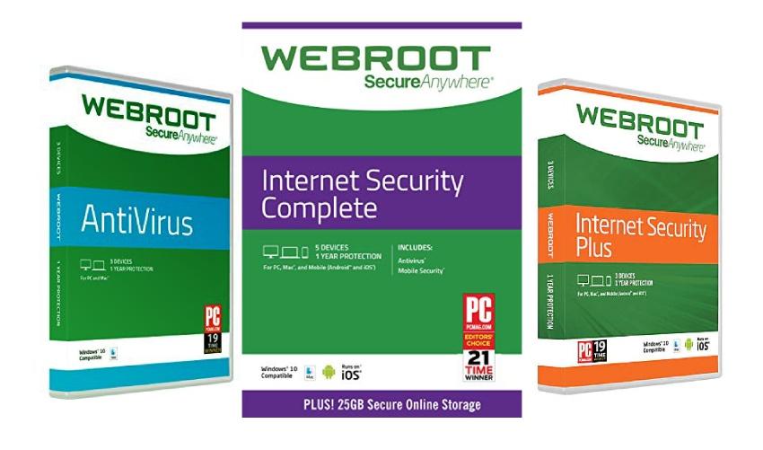 Webroot Packages