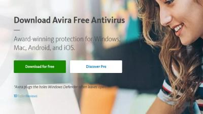 Avira Antivirus.