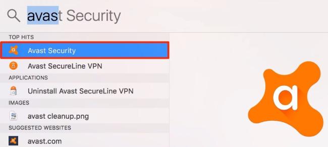 Avast: mac, security