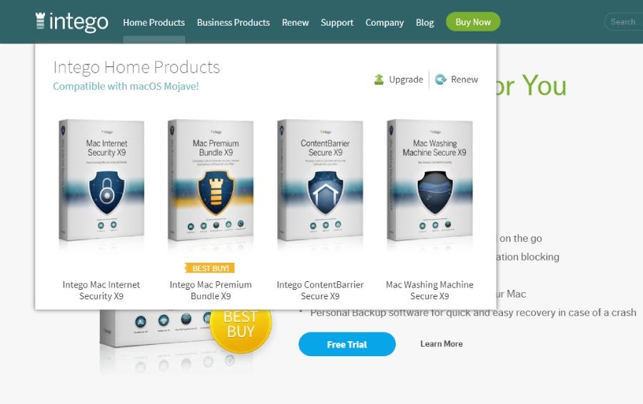 Intego: antivirus, price, plans