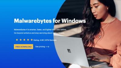 Malwarebytes For Windows Antivirus.