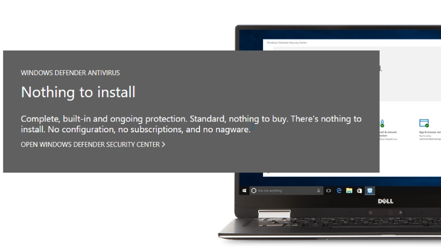Windows Defender Review - Antivirus-Review com