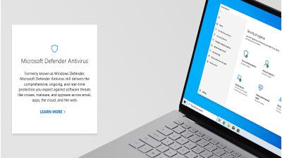 Windows Defender Antivirus.