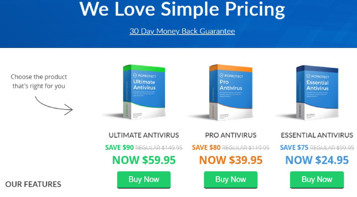 PC Protect Prices