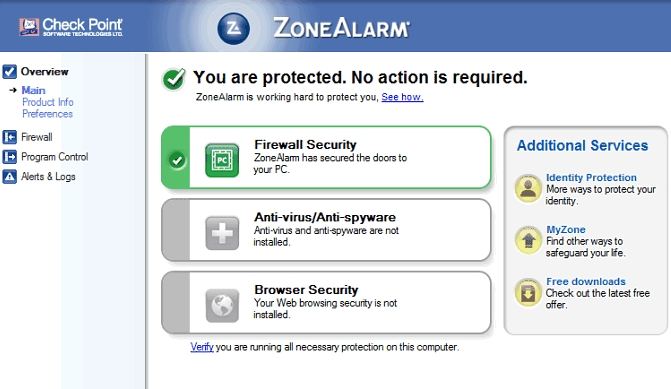 zonealarm review, antimalware, virus protection