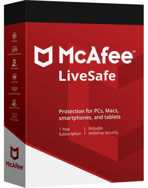 McAfee LiveSafe review: pros and cons, features