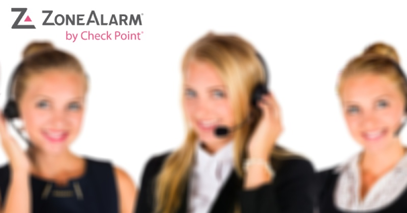 zonealarm review, customer support support