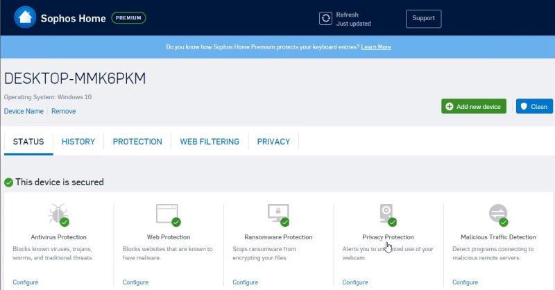 Sophos antivirus: review, pros and cons, malware protection
