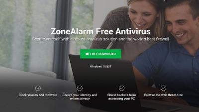 ZoneAlarm Antivirus.