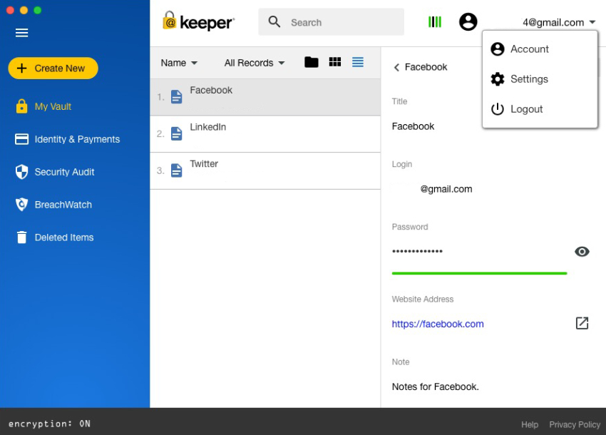 Keeper password manager, best password manager